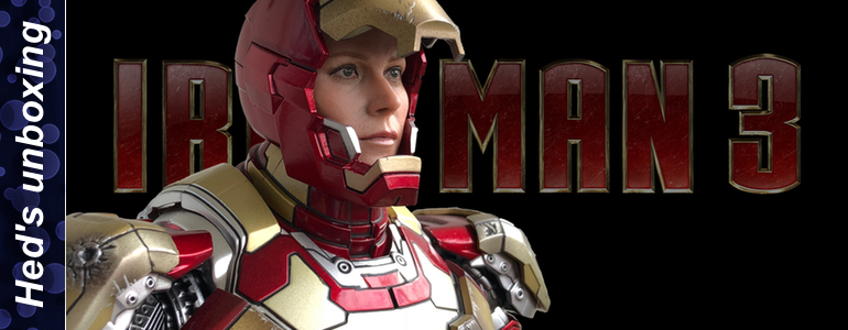 Heds Unboxing Pepper Potts head for Hot Toys Iron Man