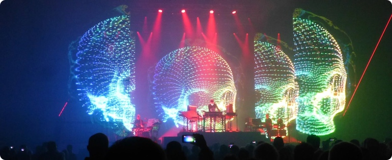 Jean Michel Jarre live @ ISS Dome